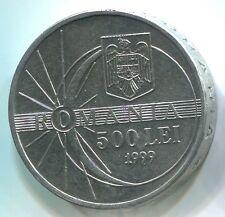 Romania C029 1999, 500 Lei, Solar Eclipse coin, additional items ship free!