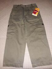 Faded Glory Boys Uniform Green Twill Cargo Pants size 6