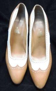 Women HERMES Tan Pumps Shoes 7