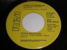Chain Reaction: Carolyn Franklin / Everybody's Talkin' 45 - Soul
