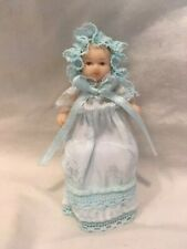 Miniature Dollhouse Porcelain Bisque Baby Doll Delton 2 inches