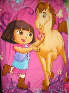 50x60 DORA the EXPLORER Horse Rocinante Comforter Toddler Bed Size Throw Blanket
