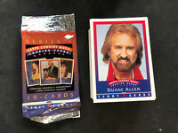 1992 TENNY SUPER COUNTRY MUSIC COMPLETE (100) CARD SET