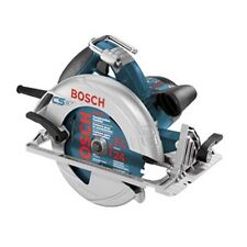 "Bosch CS10 15 Amp 7 1/4"" Corded Circular Saw Adjustable Bevel & Levers Soft Case"