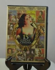 NEW Great Cinema: 15 Films (DVD, 2009, 4-Disc Set) FAST-FREE SHIPPING