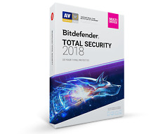 Bitdefender Total Security 2018 - 10 Devices, 1 Year (Key - Activation code)