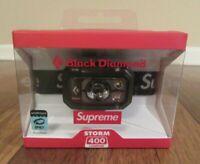 Supreme Black Diamond Storm 400 Headlamp Black FW20 Supreme New York 2020 New DS