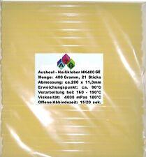 Ausbeul HEISSKLEBER 0,4 kg gelb mit Harz 21 Sticks ca. 11,3x200 mm