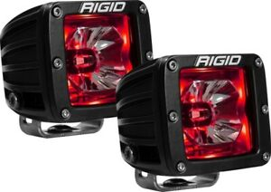 Rigid Industries Radiance Pod Series LED Light 20202 RED BACKLIGHT
