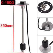 350mm Boat Marine Tank Level Sender Car Truck Water Fuel Gauge Sensor 0-190ohms