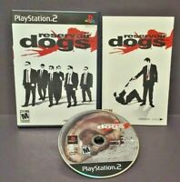 Reservoir Dogs  -  Playstation 2 PS2 Game Complete Tested + Working