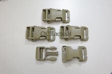 4 PACK ITW Nexus QASM Quick Attach Surface Mount W/Buckle Coyote or Black 4 PACK