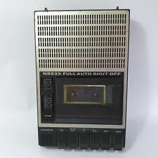 Philips N2233 Cassette Player Recorder Full Auto Shut Off Tested & Working