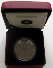 2012 Proof $20 Crystal Snowflake #14-Winter Canada .9999 silver twenty dollars