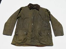 Mens BARBOUR Classic Beaufort Green Wax Cotton Jacket W/ Liner XL XXL ? C42