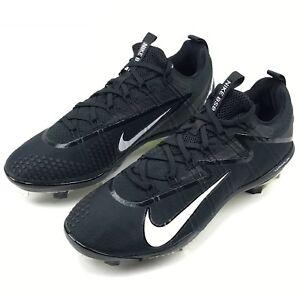 New Nike Lunar Vapor Ultrafly Elite Baseball Cleat Men's US Size 11 Black 852686