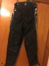 Unisex Black Ski Trousers Xsmall 28-24.