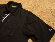 NEW Men's McDonald's McDonalds Fast Food Uniform Polo Shirt Size Medium NWOT