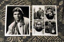 3-for-1 LARKIN MALLOY 8x10 B/W PROMO PHOTO LOT All My Children Guiding Light EON