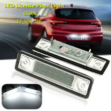 LED Licence Number Plate Light For Vauxhall Opel Astra G Vectra B Tigra Zafira A