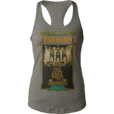 The Band-( with Bob Dylan)-Last Waltz-Girl's Junior XL Tank T-shirt