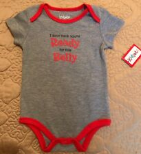 Baby Boy/Girl Romper, GREY ONE PIECE Clothes Outfits 3-6 months **CUTE**