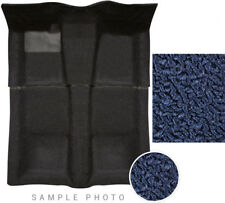71-74 Barracuda Carpet Set Midnight Blue 4 Speed Manual Trans 2 Piece 80-20 USA