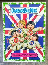 2017 GARBAGE PAIL KIDS BATTLE OF THE BANDS GREEN STICKER #5B TARGETED TOWNSHEND