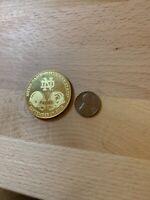Notre Dame Vs. Michigan State 50th Anniversay Limited Edition Coin