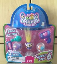 Squinkies Squinkie Doos Salon & Spa Series 6 includes 3 Squinkies and 1 Brush No