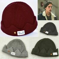 Riverdale Jughead Jones Cosplay Knitted Crown Cap Winter Warm Beanie Hat US