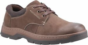 Cotswold Thickwood Brown Lace Mens Shoes Polishing Nubuck leather