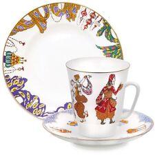 Scheherazade Ballet 3-piece. Porcelain Gift Set