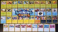 ✨ POKEMON - SHINING FATES ✨ COMPLETE Rare + Uncommon + Common Full Set Card Lot