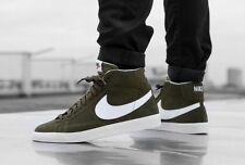 NIKE BLAZER MID PRM Retro Suede Trainers Fashion - UK 10.5 (EUR 45.5) Urban Haze