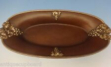 Tiffany & Co. Copper Tray (Pin) with Applied Sterling Grapes & Leaves (#0659)