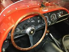 Jaguar Kougar XKE E-Type Wood Steering Wheel 1961 - 72  Rivets Nardi NOS New 15""