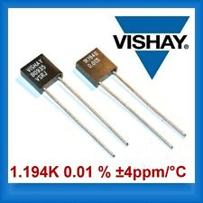 1.194kΩ 0.01 % ±4ppm/°C Precision Resistors VISHAY VSRJ1K194000.1% [QYT=1PCS]