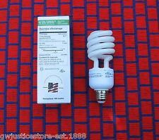 BOX of 2 ~ Natural Compact Fluorescent & GROW LIGHT BULB Full Spectrum CFL 23w