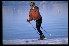 225092 CROSS COUNTRY SKIING Lake Tahoe USA A4 FOTO STAMPA