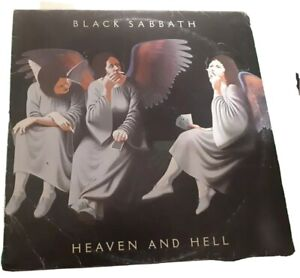 LP ITALY 1980  Black Sabbath ‎– Heaven And Hell
