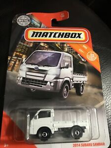 2014 Subaru Sambar 2019 Matchbox MBX City 0035995307827
