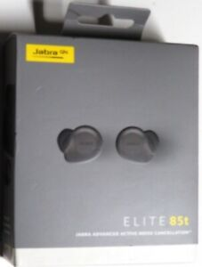 Jabra Elite 85t True Wireless Bluetooth Earbuds, Titanium Black