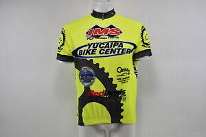 Verge V Gear Yucaipa Bike Men's S/S Cycling Jersey, Neon Yel, 3/4, L, Brand New