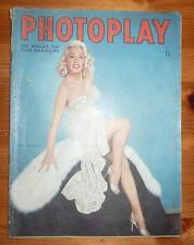 PHOTOPLAY MAGAZINE JUNE 1955 MAMIE VAN DOREN FRONT COVER