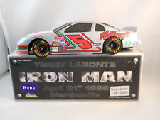 TERRY LABONTE # 5 IRON MAN ACTION DIECAST BANK 1:24 - 1996 MONTE CARLO