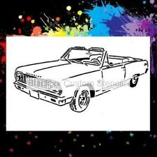 64 Chevy Chevelle Airbrush Stencil,Template
