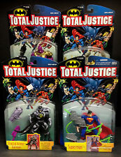 KENNER TOTAL JUSTICE LEAGUE SERIES 2 COMPLETE 4 FIGURE SET DESPERO SUPERMAN D84