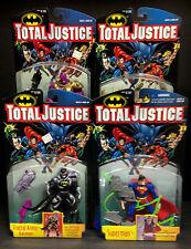 KENNER TOTAL JUSTICE LEAGUE SERIES 2 COMPLETE 4 FIGURE SET DESPERO SUPERMAN D84