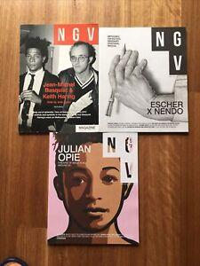 NGV National Gallery Of Vic Art Magazine Bundle Keith Haring Basquiat Escher